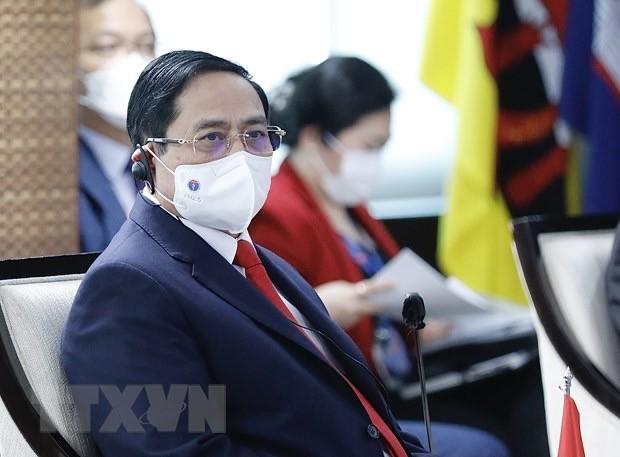 ASEAN Leaders' Meeting opens - ảnh 1