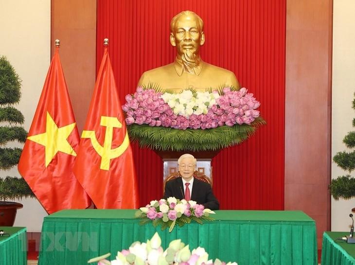 Vietnam treasures ties with Sri Lanka: Party chief - ảnh 1