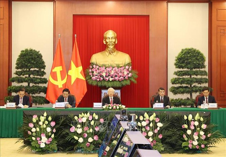 Party leader Nguyen Phu Trong's speech at China Communist Party and World Political Parties Summit - ảnh 1