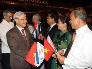ผลักดันความสัมพันธ์ร่วมมือในทุกด้านระหว่างเวียดนาม-คิวบา - ảnh 1