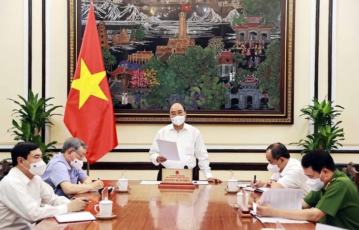 ประธานประเทศ เหงวียนซวนฟุก เป็นประธานการประชุมเพื่อประเมินการบังคับใช้กฎหมายว่าด้วยการนิรโทษกรรม 2018 - ảnh 1