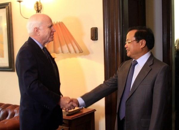 Politburo member Pham Quang Nghi concludes US visit - ảnh 1