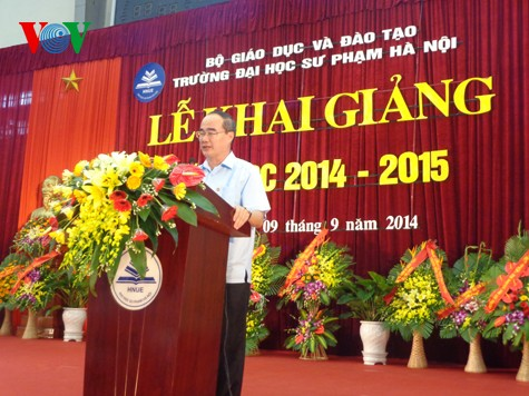 Vietnamese Party, State attach great importance to education and training - ảnh 1