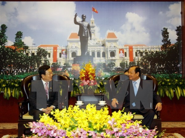 HCM city and Busan strengthen comprehensive ties - ảnh 1