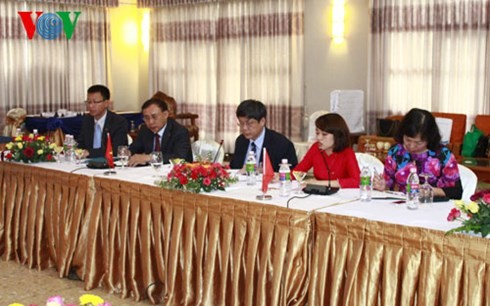 VOV promotes broadcasting cooperation with Myanmar and India - ảnh 1