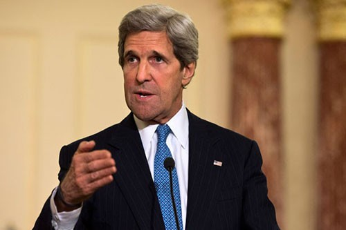 US Secretary of State John Kerry's activities in Hanoi - ảnh 1