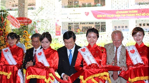 Technology building of HCM city's Heart Institute upgraded - ảnh 1