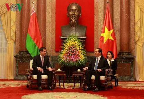 越南公安部长苏林与白俄罗斯国家安全委员会主席瓦库利奇克举行会谈 - ảnh 1