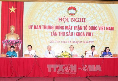 越南祖阵要加强全民团结 广泛集合各阶层人民 - ảnh 1
