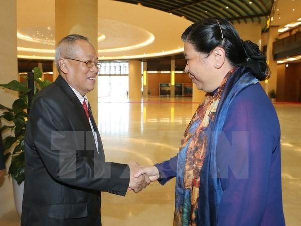 提高越柬国会合作效果 - ảnh 1