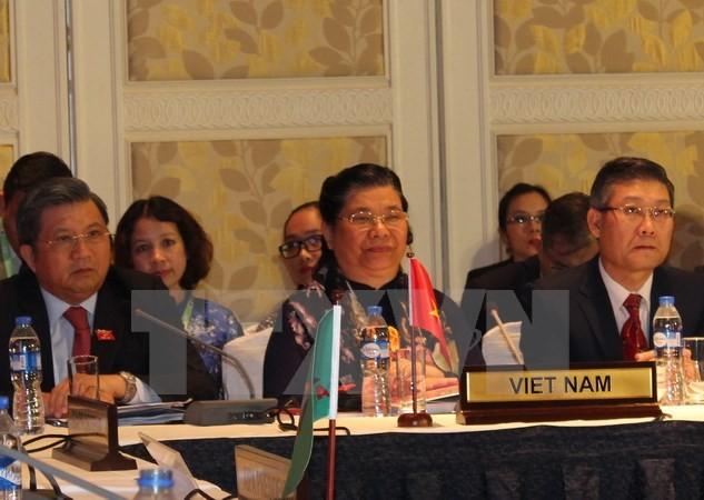 越南国会副主席丛氏放出席AIPA-38执委会会议 - ảnh 1