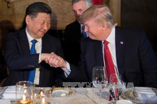 特朗普开始对中国进行国事访问 - ảnh 1