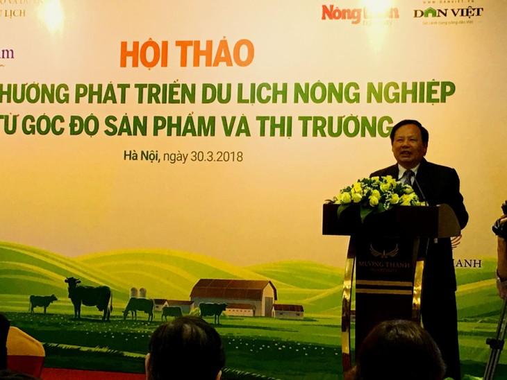 越南农业旅游的优先发展方向 - ảnh 1