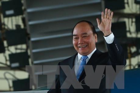 阮春福启程赴加拿大出席G7扩大会议 - ảnh 1