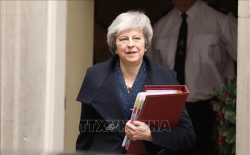 英脱欧:特雷莎·梅将会见欧盟委员会主席容克 - ảnh 1