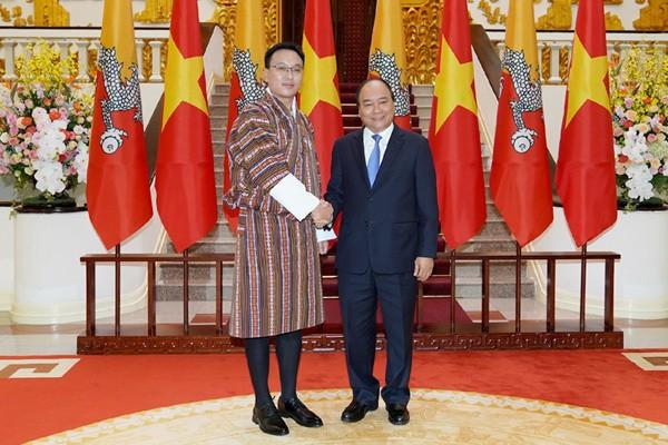 越南和不丹加强各领域合作 - ảnh 1