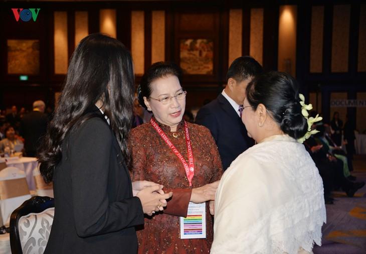 越南国会主席阮氏金银出席在泰国隆重举行的AIPA-40大会开幕式 - ảnh 1