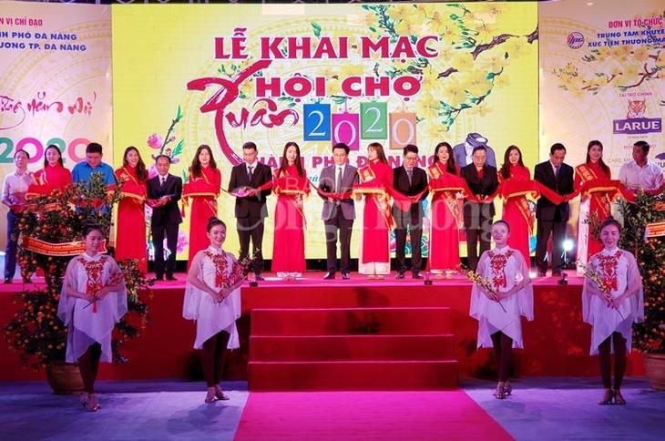 2020年春节商品展销会在岘港市开幕 - ảnh 1