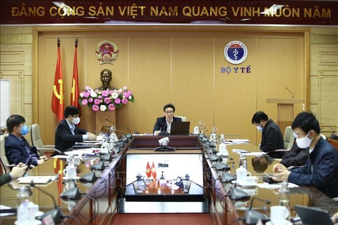 越南新冠肺炎疫情防控国家指导委员会召开视频会议 - ảnh 1
