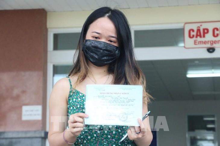 越南再有4例新冠肺炎患者治愈出院 - ảnh 1