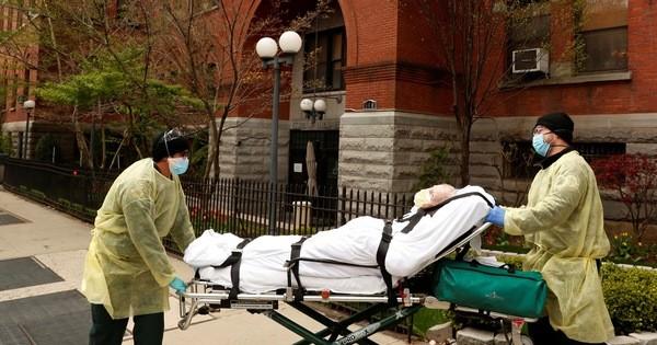 全球15.4万人死于新冠肺炎疫情 - ảnh 1
