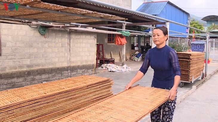 莱州省平吕芭蕉芋粉条-西北地区的手工业名牌 - ảnh 1