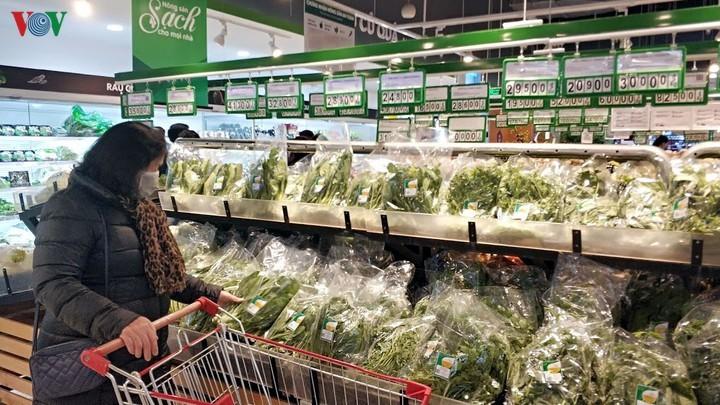 河内农民在流行病中连接农产品销售活动 - ảnh 1