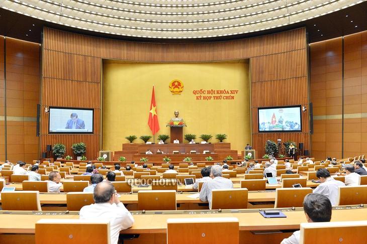 越南国会讨论岘港市城市政府模式试点组织决议草案 - ảnh 1