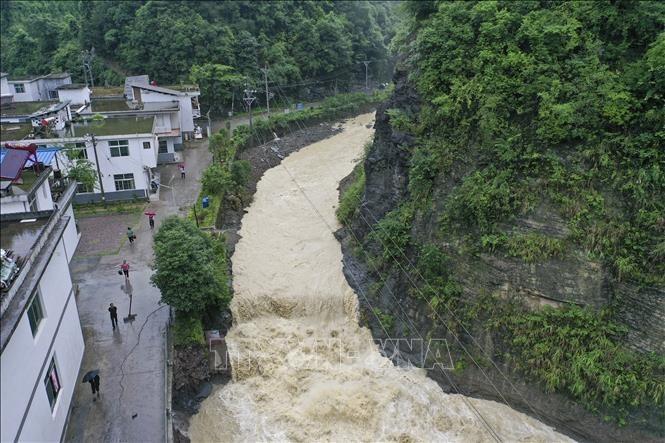 中国南方洪灾严重 - ảnh 1