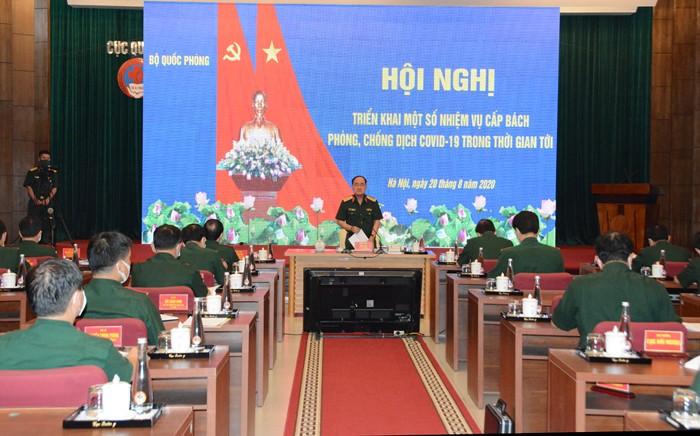 越南国防部就新冠肺炎防控工作召开会议 - ảnh 1