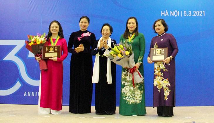 越南2020年柯瓦列夫斯卡娅奖颁奖仪式在河内举行 - ảnh 1