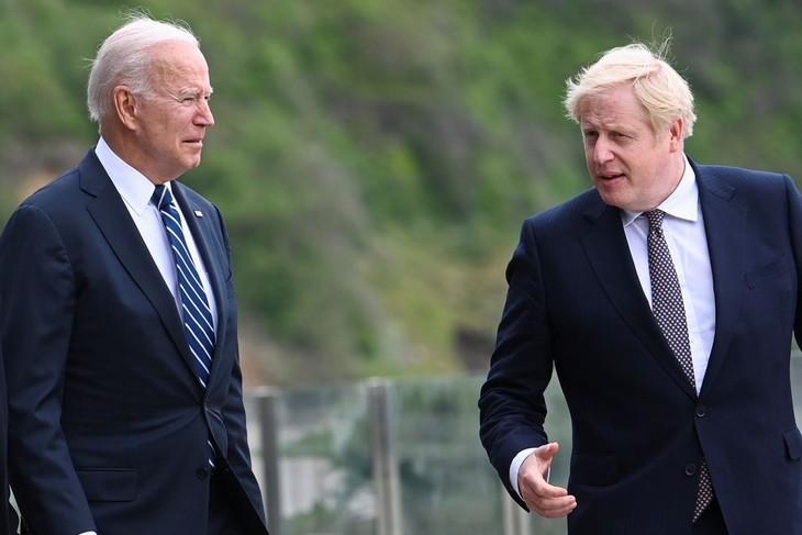 美英重申对北爱尔兰和平协议的承诺 - ảnh 1