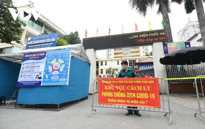 越南新冠肺炎治愈出院病例2万1344例 - ảnh 1