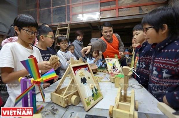 儿童创新木工班 - ảnh 1