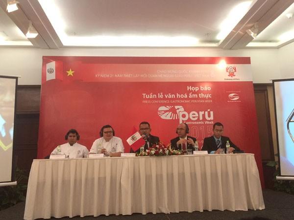 Peru stellt zum ersten Mal in Vietnam kulinarische Woche vor - ảnh 1