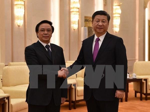 Sonderbeauftragter des KPV-Generalsekretärs Nguyen Phu Trong besucht China - ảnh 1