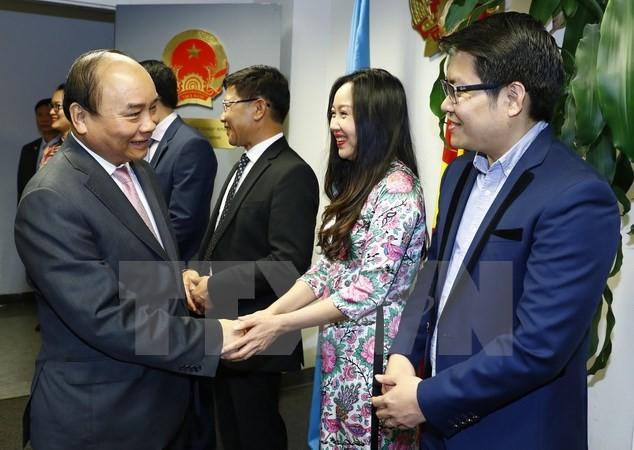 Internationale Medien berichten positiv über USA-Besuch von Premierminister Nguyen Xuan Phuc - ảnh 1