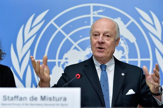 UNO gibt Termin für Direktverhandlungen zwischen Parteien in Syrien bekannt - ảnh 1