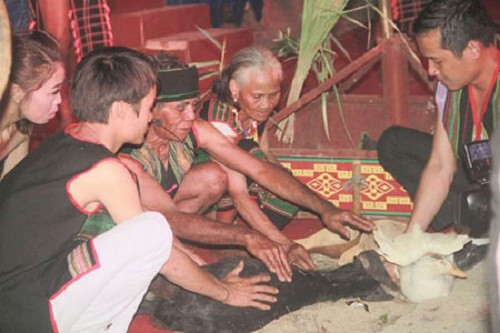 Gebet für die Gesundheit der Volksgruppe der M'nong - ảnh 1