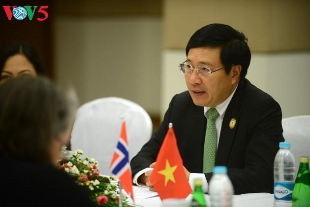 ASEM-Außenminister vertiefen Partnerschaft für Frieden und nachhaltige Entwicklung - ảnh 1