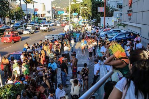 Starkes Erdbeben in Mexiko - ảnh 1