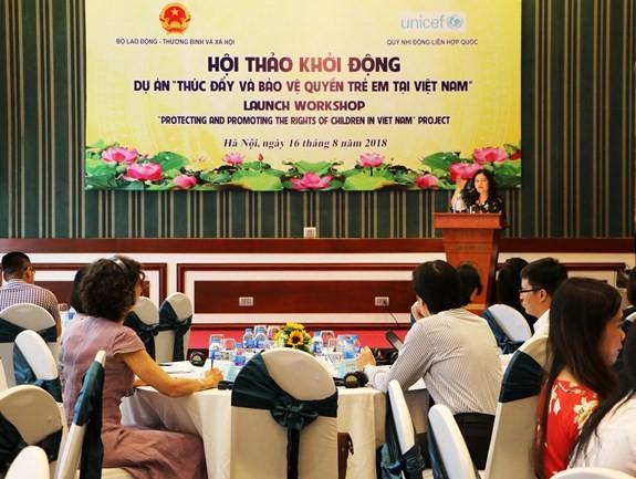 Förderung und Schutz der Kinderrechte in Vietnam - ảnh 1