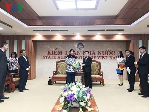 Rechnungshöfe Vietnams und Malaysia arbeiten zusammen - ảnh 1