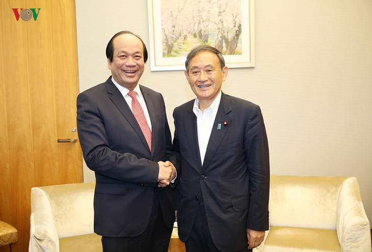 Vertiefung der strategischen Partnerschaft zwischen Vietnam und Japan - ảnh 1