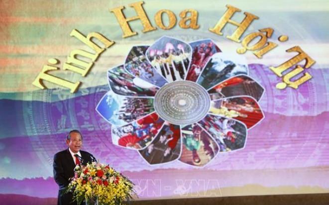 Gala über immaterielles Kulturerbe Vietnams und Festival von Tuyen-Zitadelle - ảnh 1