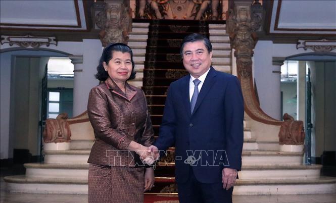 Förderung der Investition und Entwicklung der Beziehungen zwischen Kambodscha und Vietnam - ảnh 1
