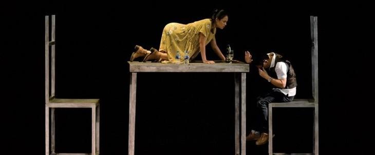 """Drama """"Onkel Wanja"""" – eine Zusammenarbeit zwischen vietnamesischem Jugendtheater und japanischem Theater """"Ohne Wände"""" - ảnh 1"""