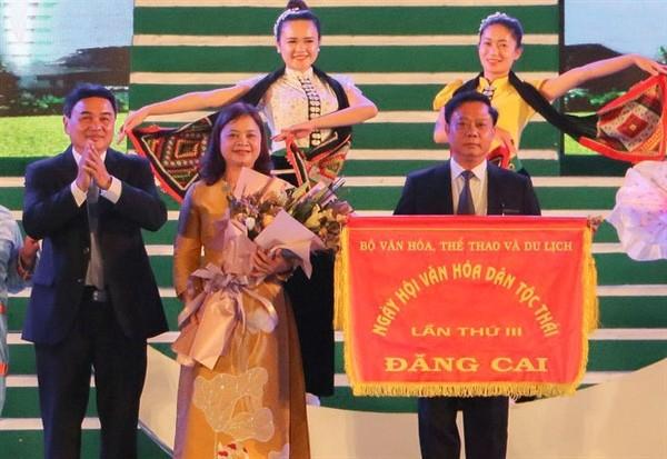 Abschluss des Kulturfestivals der Thai - ảnh 1