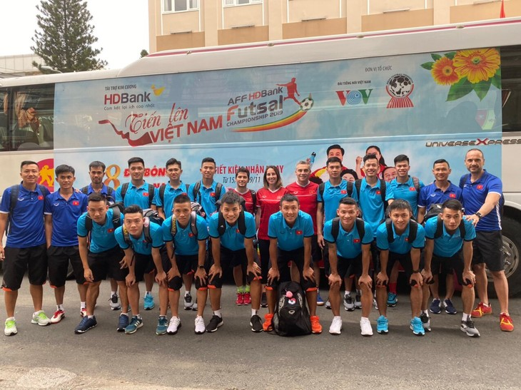 Südostasienmeiterschaft der Futsal HDBank - ảnh 1