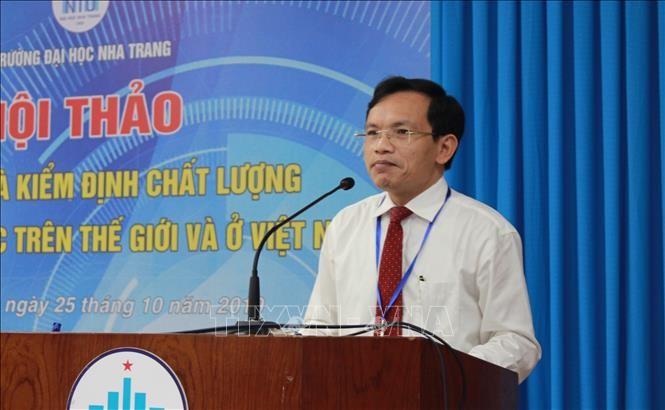 Forum über Bewahrung und Aufsicht der Qualität der Erziehung in den Hochschulen in Vietnam und in der Welt - ảnh 1